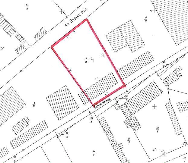 EF_AMRA2_Lageplan unbebautes Grundstück
